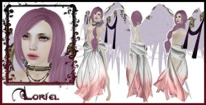Loriel Character Sheet by OtakuEC
