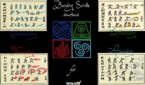 ATLA Bending Scrolls mod download for XNAlara by IamRinoaHeartilly
