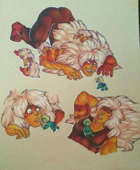 Jasper and the Babs by GreenDorito