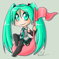 vocaloid - hatsune miku by megomobile
