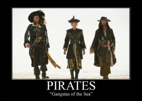 Pirates Motivational Poster by Lew-Legend