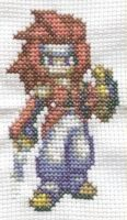 Zelos cross stitch by Lil-Samuu
