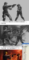 How to draw LEON and ADA-Drawing tutorials by geminibluedream