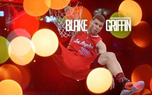 Blake Griffin Dunk Wallpaper by IshaanMishra