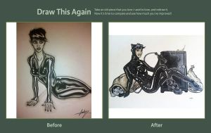 Draw Again Catwoman 1 by CodyCurtin