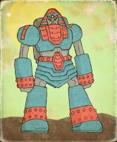 Giant Robo Again by Hartter
