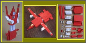 Autobot POWERGLIDE Season 1 in cardboard by Paperman2010