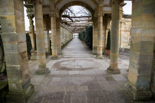 Stock - Hever Castle gardens 4 by RhysBriers