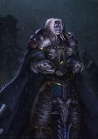 Commission: Prince Arthas by ChrisBjors