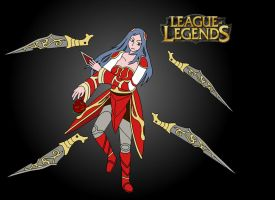 Irelia LoL by 6uitar6reat6od