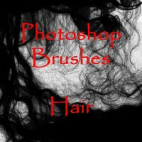 Photoshop Hair brushes - set 1 by firebug-stock