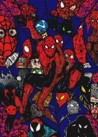 Spider-Men by Ironicplant