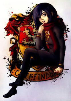 Gryffindor Mikasa by Blueberries-in-July