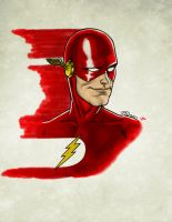 The Flash Blur by Chazzwin
