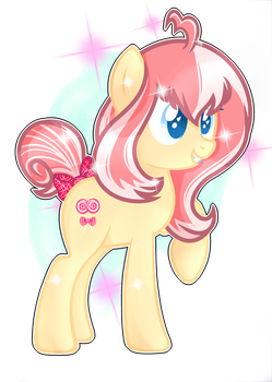 Pony Candy -OC MLP- by Takan0