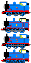 Thomas the Tank Engine (Full Sprite Sheet) by JamesFan1991