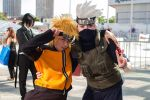 Naruto and Kakashi at Fan Expo 2013 by Kateex0