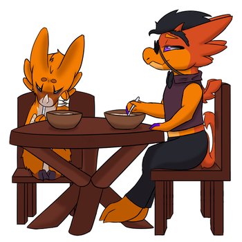 Proper meal by Enderquus