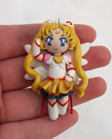 Eternal Sailor Moon charm by KingMelissa