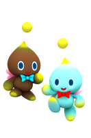 The Cute and Adorable Chao by NIBROCrock