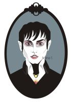 Marvellous, horrifying... Barnabas Collins by SashaZombie