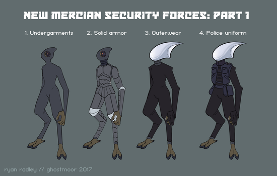 New Mercian Security Forces: Part 1 by reckingstacks