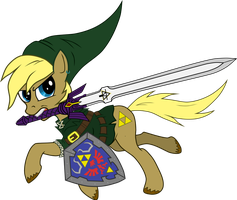Ponified Link from The Legend of Zelda by Michaeldevuyst91