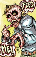 Feed me zombie by skulljammer