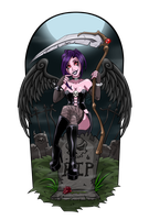 Death Angel Ivonna by hooksnfangs