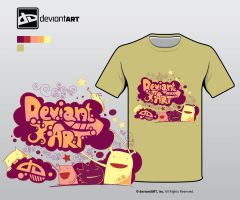 Semi-Finalist: 'DA Tee' by deviantWEAR