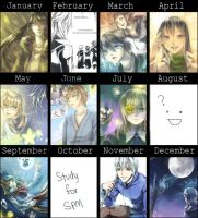 Summary Art 2012 by christon-clivef