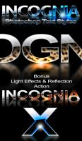 Incognia - Glossy Text Styles by ArtoriusGothicus