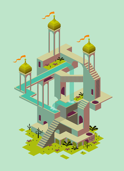 Monument Valley by RikaChan3