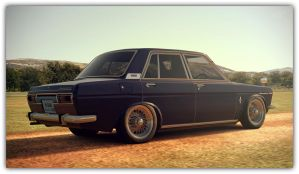 1969 Nissan Bluebird 1600 Deluxe (Gran Turismo 6) by Vertualissimo