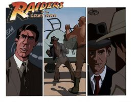 Raiders of the Lost Ark by thomsolo