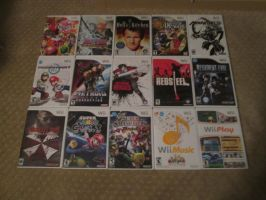 Wii Collection [October 2014] by auroraTerra