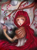 Little Red RidingHood by Giname