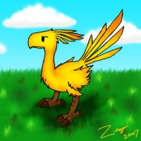 Chocobo by Zeraga