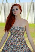 At the Fort w Karoline by 904PhotoPhactory