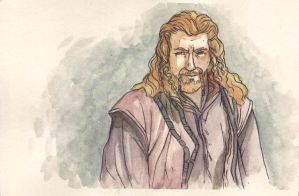 Fili, Brother of Kili and Nephew of Thorin by citrus-slice