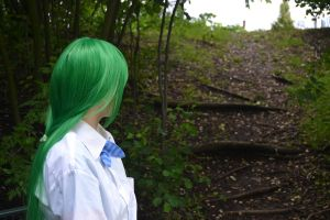 Looking to the past - Higurashi - Shion - cosplay by ViikateFretti