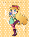 Star vs the forces of evil by Miss-Minu