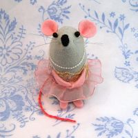 Ballerina Mouse by The-House-of-Mouse