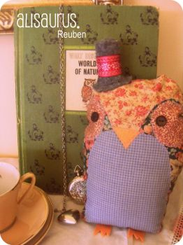 Mr Reuben Owl. by alannah-the-pirate