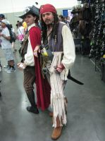 Otakon 2013 - Pirates of the Caribbean by TujoThePanda