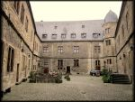 Wewelsburg - the courtyard by Valkyrja-Skuld