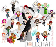 Dollchat Collab by XMarleauxX