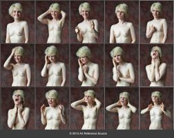 Nathalia 20 great expressions Stock by ArtReferenceSource