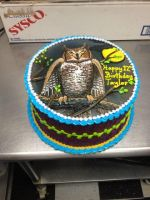 Owl Cake by The-EvIl-Plankton