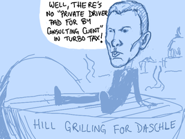 Daschle Grilled by angryzenmaster